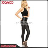 Various Types High Waist Faux Leather Trouser Stretch Skinny Fit Bodycon Pants Women Trousers