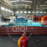 Hot sale inflatable Human Billiards /giant inflatable sports games/inflatable table game