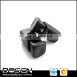 High quality garment accessories more credit cord plastic stoppers made in china
