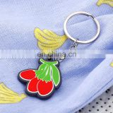 Custom soft pvc keychain car pvc with chain wholesale