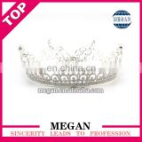Hot selling tiara headpiece crown rhinestone crown manufacturers