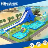 Kids inflatable toys inflatable swimming pool slide , swimming pool water slide for kids