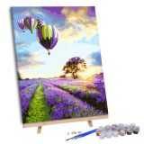diy digital oil Painting by Numbers for Adults Kit bedroom M1