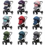 3 in 1 baby pram and car seat with stroller for newborn travel pushchair