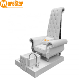 2020 high back pedicure spa chair/king throne pedicure chair with massage