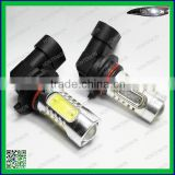 Auto Car White LED Light Bulbs Fog drl Brake Stop Tail Light Reverse Lamp Fit For 9006 7.5W