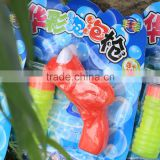 Lovely Non-taxic cartoon friction frog bubble gun with lots of fun