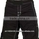 Men's Blank Micro Stretch 100% Polyester Fight MMA Shorts