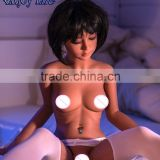 140cm Realistic Flat-chested Japanese Silicone Sex Dolls, Full Body Sex Dolls, Oral Anal Vagina Real Pussy Sex Toy For Male