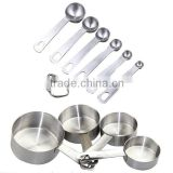 Premium Stainless Steel Stackable Baking Set Measuring Cups and Spoons                                                                         Quality Choice