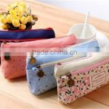 Kawaii Stationery Large Cosmetic Bags School Plush Pencil Bag
