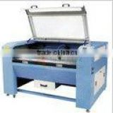 High efficiency tiles or cloth CO2 laser engraving cutting machine/co2 laser engraving cutting machine engraver 40w