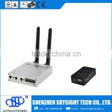 D58-2 5.8Ghz 32CH AV FPV Diversity radio Receiver with SKY-52W 5.8G 2W A/V video transmitter