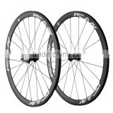 2016 road bike light weight carbon wheels 38mm clincher R13 hub with Sapim spokes UD matt ican logos wheelset 38C