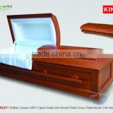 cheap adult cremation urns wooden urns for ashes CARLSLEY poplar wood Cremation casket