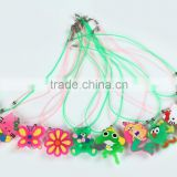 Mermaid Luminous lanyard flashing fish novelty necklaces led flashing necklace