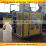 Famous components blow moulding machine gallons, double station 2 head 1 liter blowing machine, blowing machine PE gallon