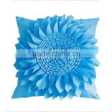latest design custom cushion covers 3D pillow cases handmade sunflower pillow cases                                                                         Quality Choice