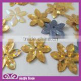 wholesale sequin fabric quincunx Laser sequins use for the wedding or garment accessories