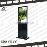 42 inch floor stand lcd advertising player touch screen kiosk totem lcd display advertising sign board all in one pc tv computer