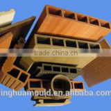 WPC plastic parts wooden moulding China manufacturer