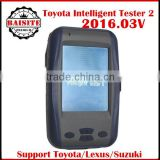 Most economic shipping toyota denso intelligent tester ii car diagnostic scanner toyota it2 3 year warranty with Oscilloscope