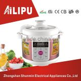 Digital Display 6.0L Rice Cooker/Energy Saving Electric Pressure Cooker/Ailipu Brand Kitchen Appliance