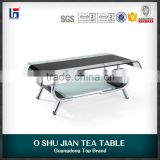 China power glass tea living room coffee table furniture SJ106B                                                                         Quality Choice