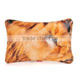 Wholesale fancy lion eyes washable throw pillow with inserts                                                                                                         Supplier's Choice