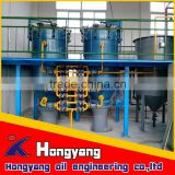 crude sunflower seed oil refinery production line with best quality factory price for sale