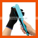 Black Heat Resistant Gloves Hair Styling Tool For Curler Straightener And Styling Hair Tools