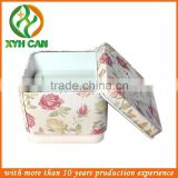 Best value beautiful bar soap square tin can