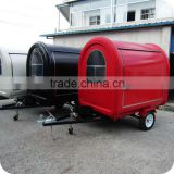 2013 Comfortable Road Side Mobile Electric Deep Fryer Bain Marie Food Vending Trailer Kiosk Cart XR-FC220 B