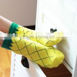 Women socks | colorful socks | summer socks | mens socks | funny socks | patterned socks | mismatched | Pineapples Low Socks |
