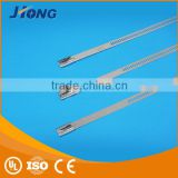 electrical cable size bicycle saddle pvc ladder type stainless steel cable tie with Multi Lock Type