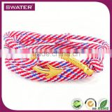 New 2016 Jewellery Gold Fish Hook Red Rope Lucky Bracelet