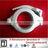Concrete pumps spare clamp,DN100 forging Adjustable quick Lever Clamps