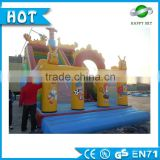 Funning-Play outdoor playground jumping castle house Inflatable bouncer inflatable wall for children amusement park