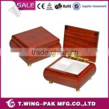 High-end unfinished wood custom logo printed ballerina musical jewelry boxes manufacture china