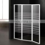 aluminium frame shower screen bathtub enclosures 6593