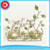 Pastoral style tree branch love bird cheep decoration metal candle stand                                                                         Quality Choice