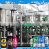 Full automatic beer can filling / seaming machine