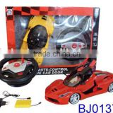 New kid toy cool red remote control car model 5ch 1/10 scale rc drift car
