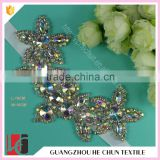 HC-7534-1 Hechun Rhinestone Hotfix Handmade Decorative Neck Beaded Trim