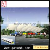 China factory PVDF Cover Q235 Steel wedding pagoda tents Guarantee year 10years permanent structure