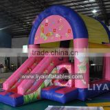 2015 outdoor playground inflatable slide best combo bouncing jumping slides for kids toy