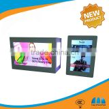 Favorable price display for advertising lcd usb monitor media player flexible transparent display