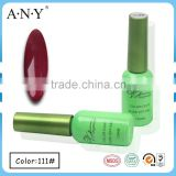 ANY Nail Beauty Salon Using UV Gel Curing Soak Off Red Cheap Wholesaler Nail Polish UV Gel