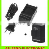 New 1300mAh Battery Rechargeable for 3 AHDBT-301 AHDBT-201+Car Wall Quick Battery Charger for Camera