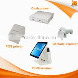 15 inch touch screen dual core 1.8GHz/i3/i5 Android POS system terminal machine for supermarket
